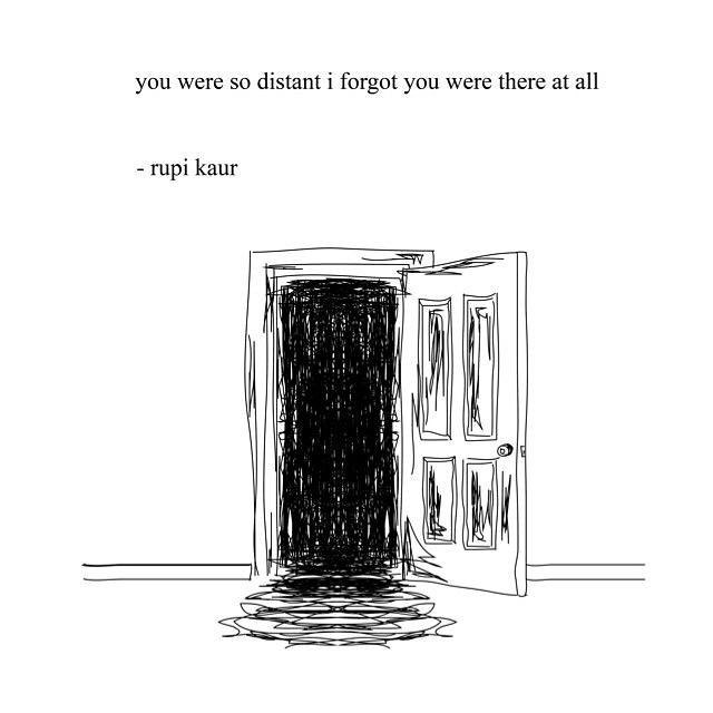 Sad Love Quotes Distance By Rupi Kaur Love Flickr