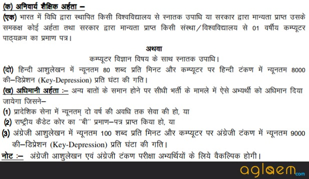 UKPSC Additional Private Secretary Exam 2018   Uttarakhand APS