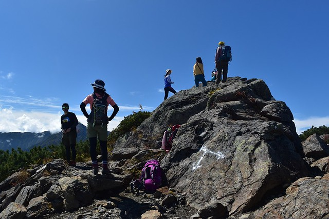 アサヨ峰山頂