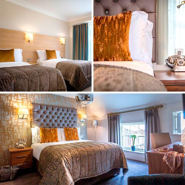 Fleet Street uno de los mejores hoteles para dormir lowcost en Dublín