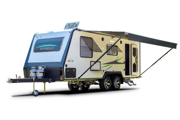 Byfield 22-02-AT Rear Door All Terrain Caravan