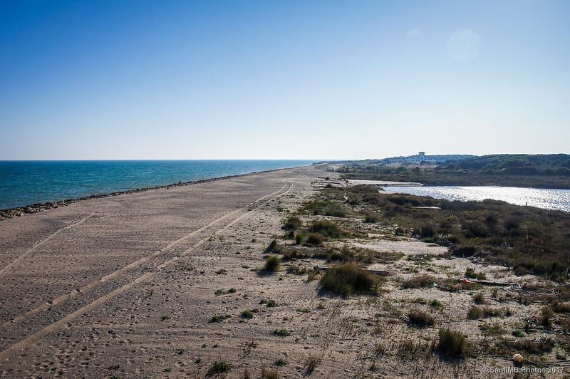 Playa del Prat desde el Semàfor
