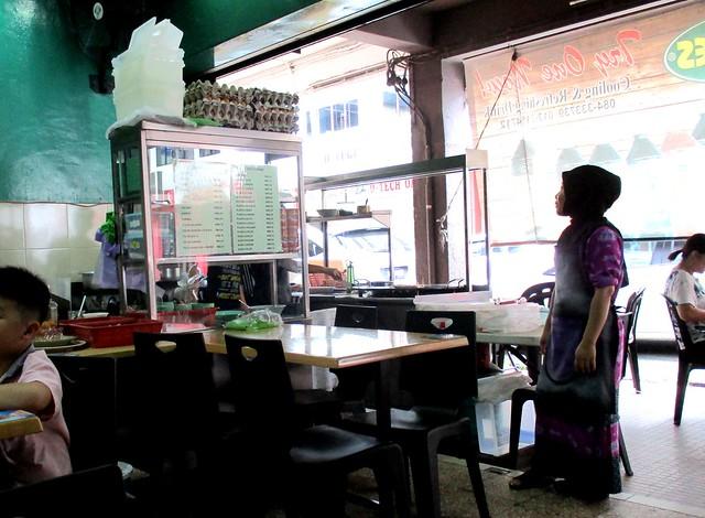 Roti canai stall