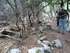 Arrivée au ruisseau de Pinu Neru : des vestiges de cumpulu ?