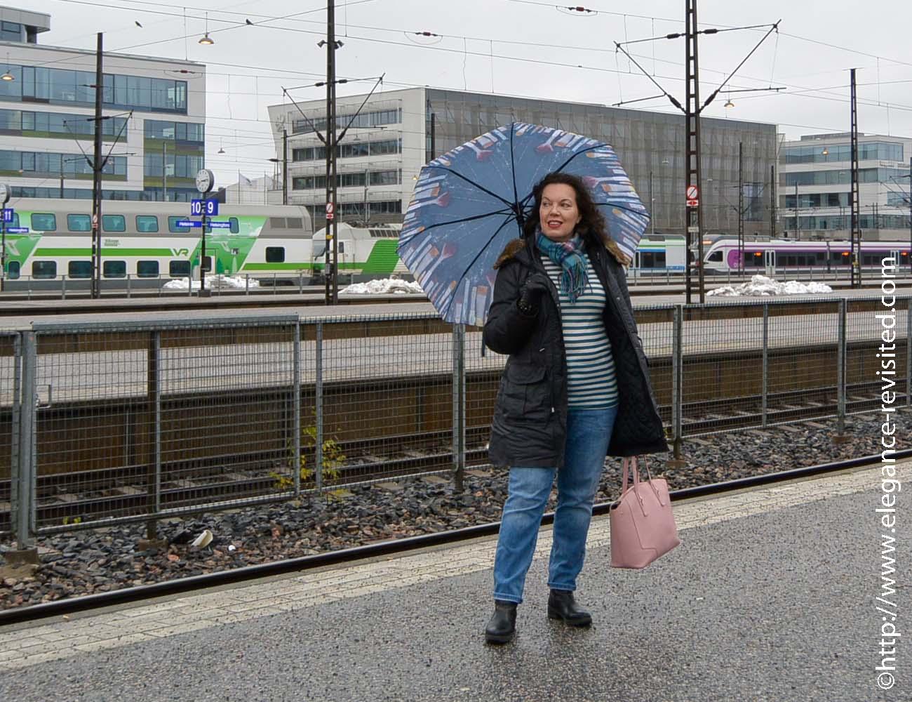 casual rain wear