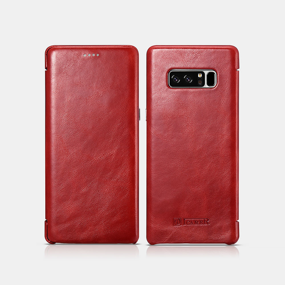 ICARER SAMSUNG GALAXY Note 8 Curved Edge Vintage Series ...