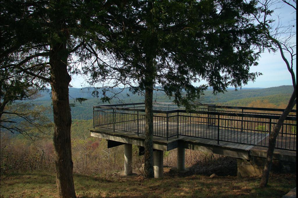 Rotary Ann Overlook and Rest Area, Ozark National Forest, Arkansas