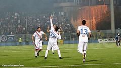 """Siracusa-Catania 0-1: Mazzarani risolve nel delirio del """"De Simone"""""""