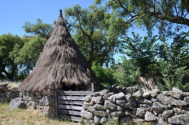 Shepherd hut, Galegas, Alenteja, Portugal