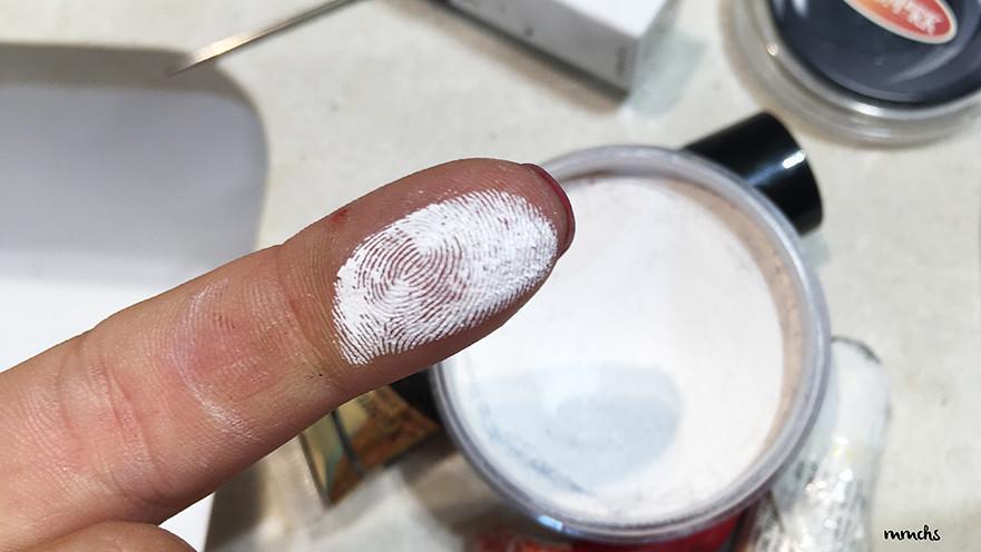 base blanca de maquillaje de Joker