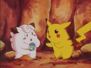 pikachu and clefairy