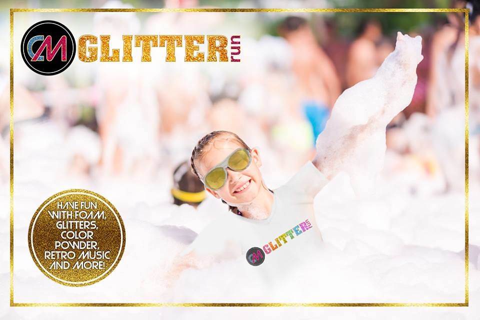 Fill your Facebook and Instagram feed with foam-tastic photos as CM Glitter Run will turn your fun run experience into one fabulous foam fest that's definitely for the win!