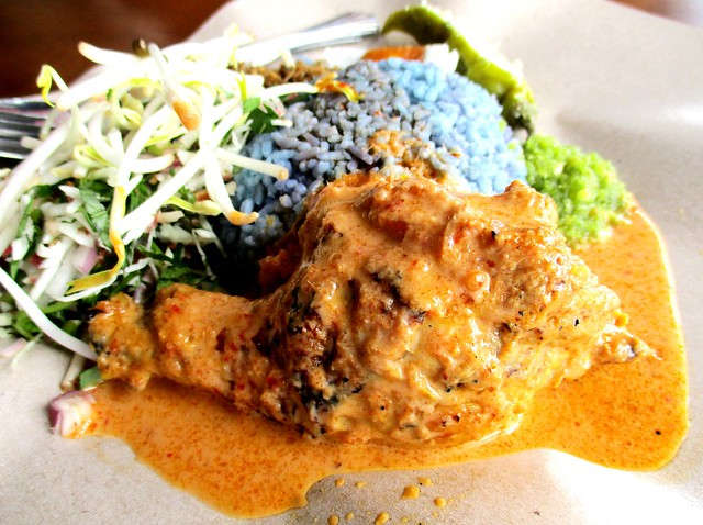 Warong Cafe nasi kerabu ayam percik