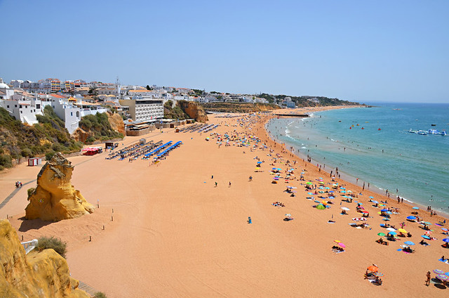 Beach at Albufeira, Algarve