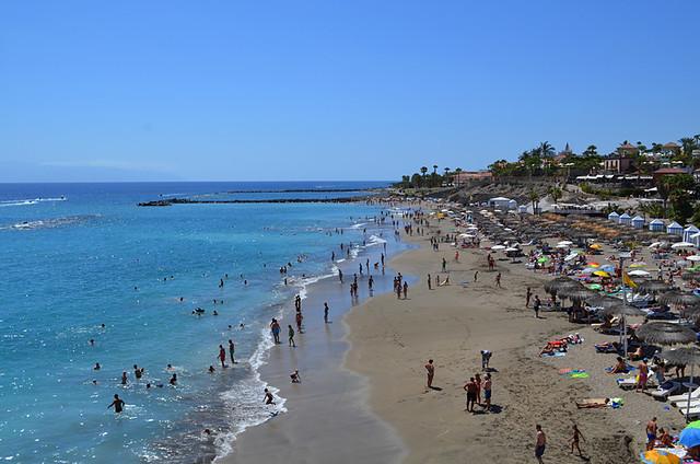 Beach, Costa Adeje, Tenerife