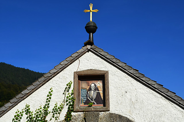 Skeleton cemetery, Ramsau, Bavaria