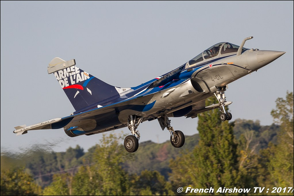 Rafale Solo Display , Rafale C , France - Air Force - 4-GL , Dassault Aviation , Avignon Air Show 2017 , Aéroclub Vauclusien , avignonairshow2017 , Meeting Aerien 2017