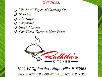 Radhika S Kitchen Naperville