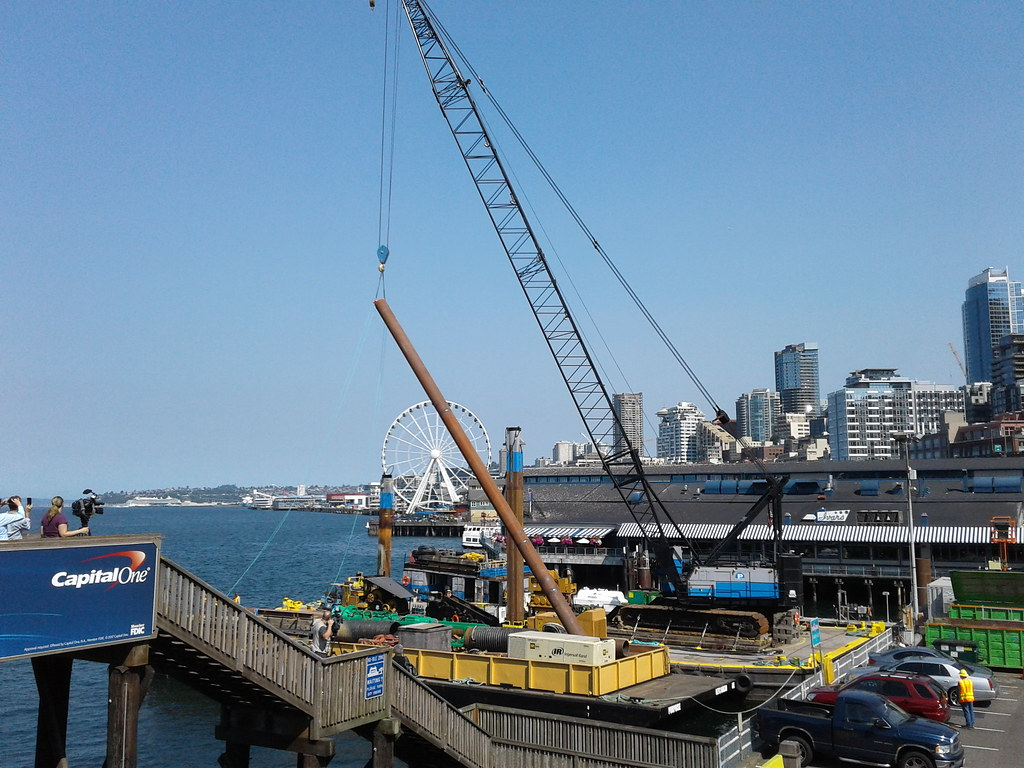 Ferries Seattle Multimodal Terminal At Colman Dock