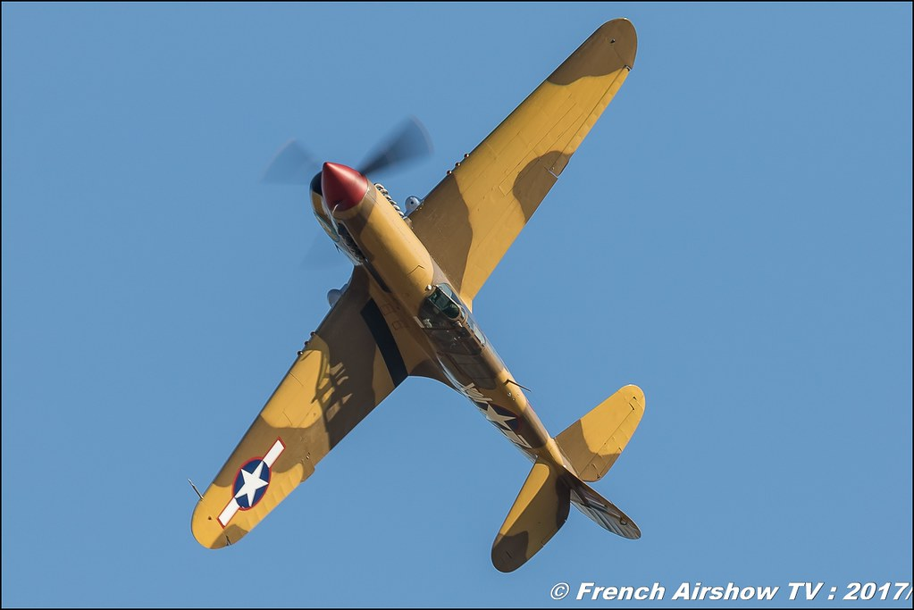 P-40F Warhawk , G-CGZP , lee's hope , The Fighter Collection , Avignon Air Show 2017 , Aéroclub Vauclusien , avignonairshow2017 , Meeting Aerien 2017