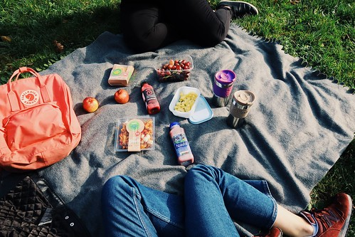 A picnic in Hampstead Heath | by A tiny bit beautiful