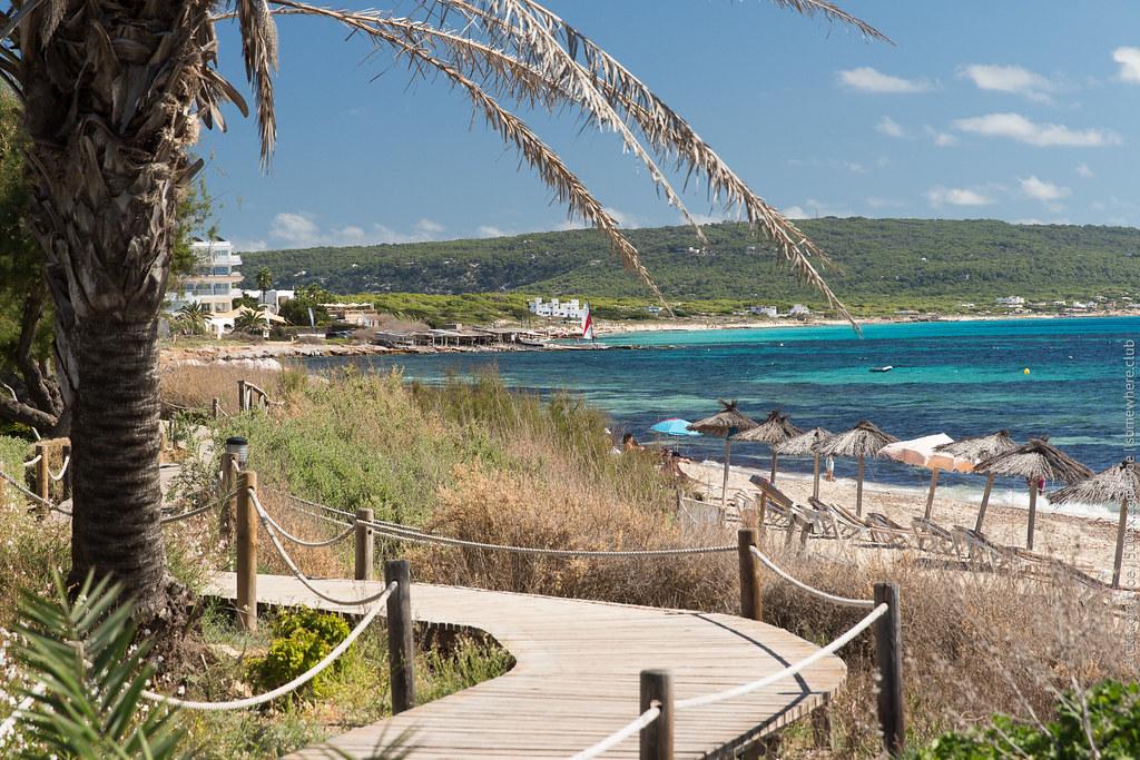 Южный пляж Форментеры