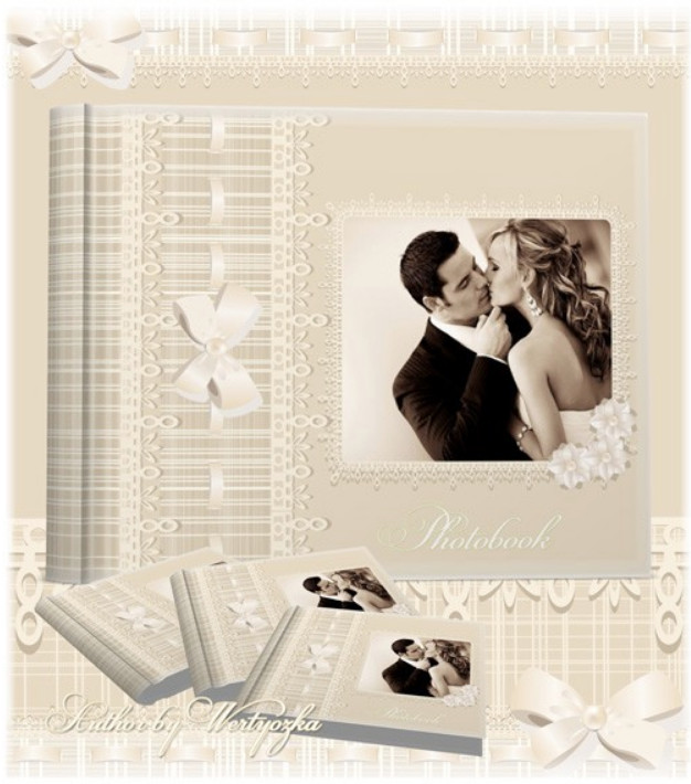 Свадебная фотокнига универсальная
