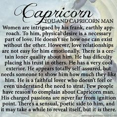 How to romance a capricorn man