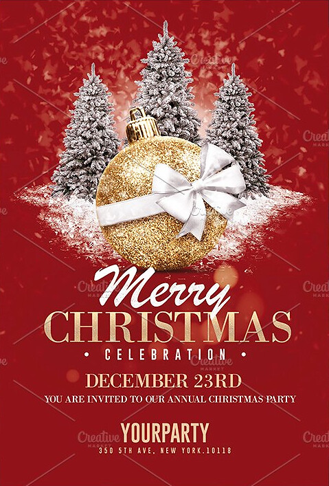 Christmas Flyer Templates Psd Flyer Templates Created By @\u2026 Flickr