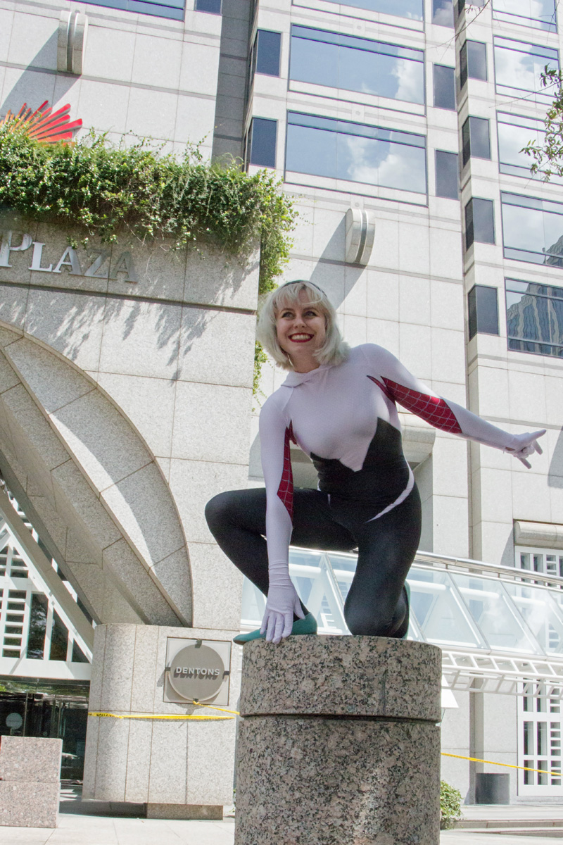 atlanta dragoncon 2017 spider-gwen costume