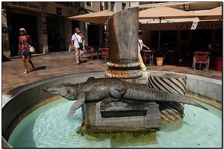 La font del cocodril, a Nîmes