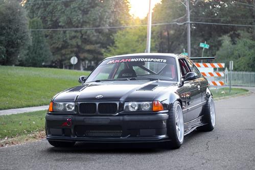 Mkah Motorsports E36 M3 With Wide 10 5 Quot Fl 5 Wheels Flickr