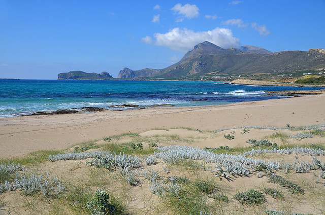 Walking, Falasarna Beach, Crete