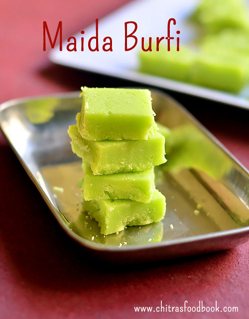 Easy maida burfi