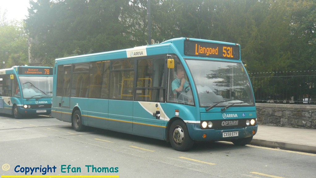 Heading For The Circular Villages Here Is Arriva Buses