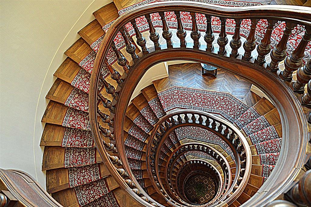 Scala a chiocciola spiral stairgase domenico for Scala a chiocciola 3d
