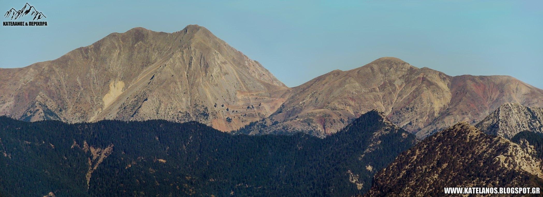 καλιακουδα βουνο ευρυτανιας νοτια πλευρα