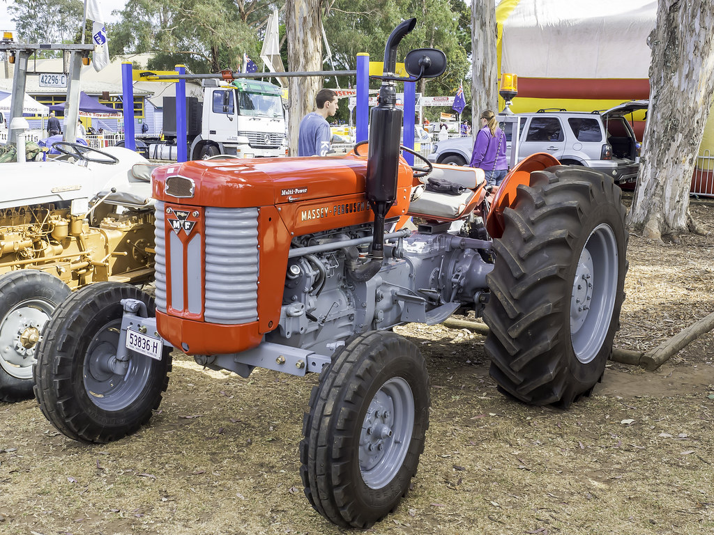 1964 Massey Ferguson 65 : Massey ferguson mf tractor berrima district old