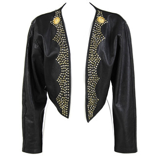 Versace Vintage Angelo Jacket Leather