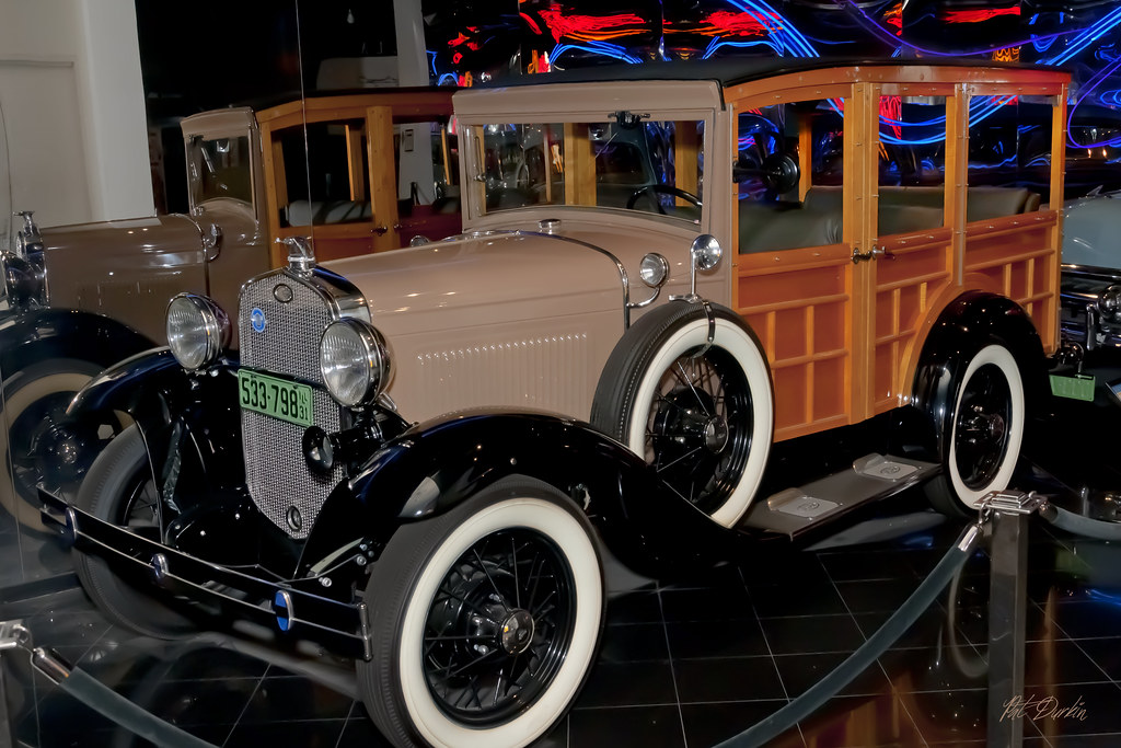 1931 Ford Model A Station Wagon   (Old) Petersen Automotive …   Flickr