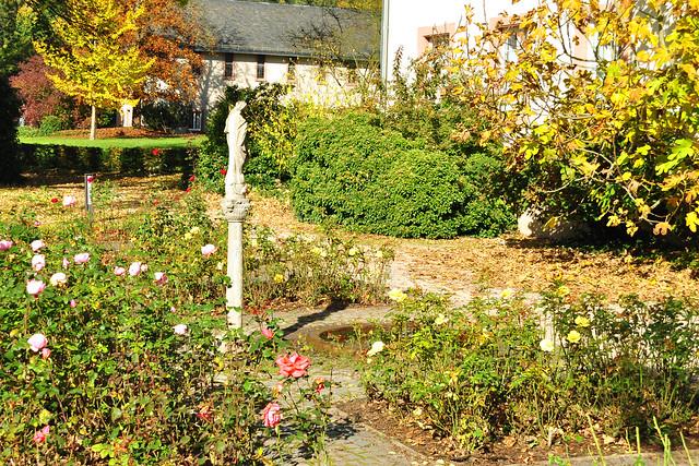 Benediktinerkloster Stift Neuburg bei Heidelberg ... Oktober 2017 ... Foto: Brigitte Stolle Mannheim