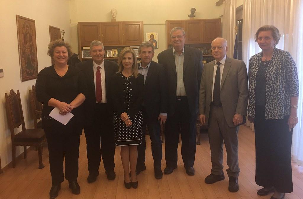 Επίσκεψη στην Περιφέρεια Ηπείρου του Υπουργού Οικονομίας & Ανάπτυξης Δ. Παπαδημητρίου