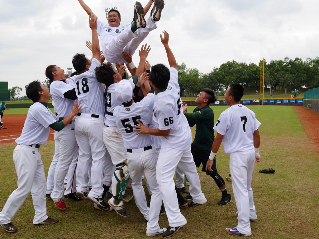 台南市棒球隊。(全運會提供)