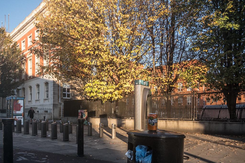 DUBLIN BIKE DOCKING STATION 03 ON BOLTON STREET 04