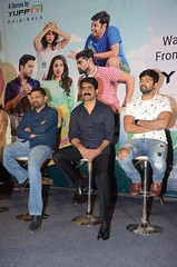 Mana Mugguri Love Story Press Meet Stills