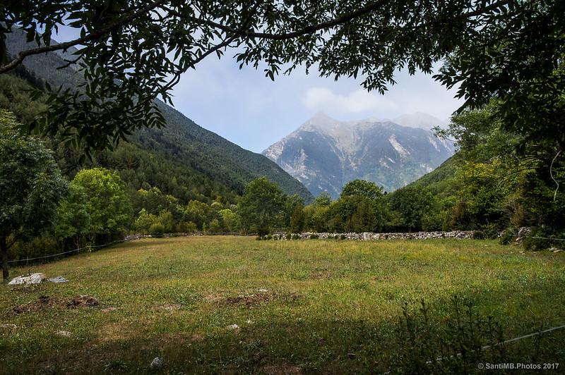 Valle del Sant Nicolau cerca de la borda de Casòs