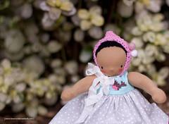 Pierette - 9.5 inches Waldorf doll by Down Under Waldorfs