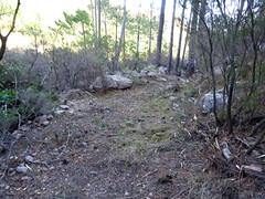 Le chemin en RD de la Figa Bona : la partie du chemin avec une grande largeur