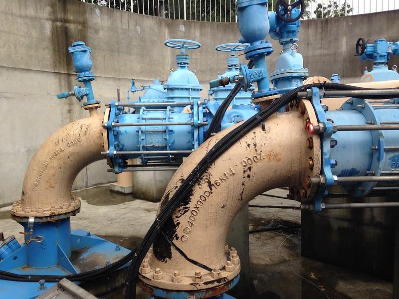 伏流水取水設施。攝影:廖靜蕙
