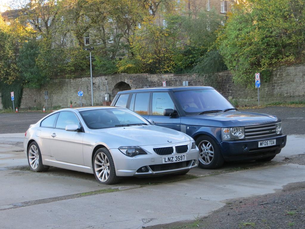 2006 BMW 630i Sport Auto and 2005 Range Rover Vogue TD6 Au…   Flickr